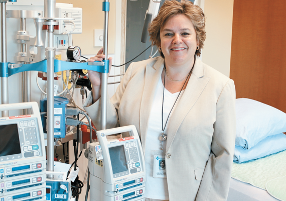 Caroline Hatcher stepping down from her role in the Dept. of Cardiac Sciences